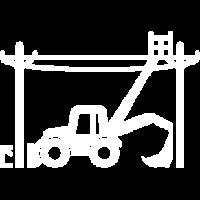 EGON® Freileitungsbau, Mastwechsel, Mast setzen